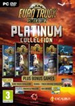 Euro Truck Simulator 2 Platinum Collection PC DVD
