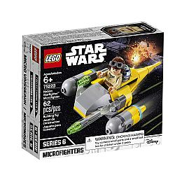 LEGO STAR WARS 75223 Naboo Starfighter Microfighter (62 Pcs)