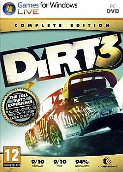 DIRT 3 COMPLETE PC (Κωδικος Steam)