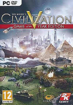 SID MEIER Civilization 5 (V) Game of the Year Edition PC