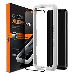 SPIGEN Full Cover Tempered Glass IPhone 11 / XR, AlignMaster, Auto-Align Technology AGL00106