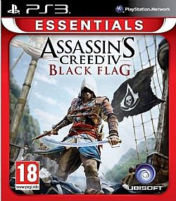 Assassins Creed IV Black Flag PS3 (Essentials)