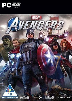 Marvel Avengers PC (DVD)