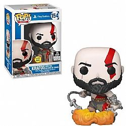 FUNKO POP! God of War - Kratos with Blades #154 (Glows in the dark) (Exclusive)