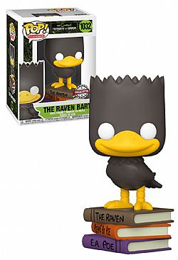 FUNKO POP! Simpsons The Raven Bart (Special Edition) #1032
