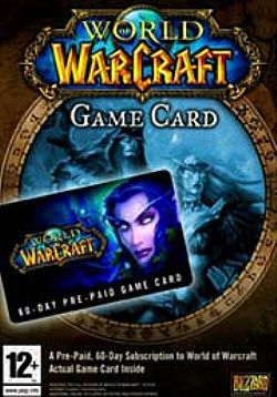 WORLD OF WARCRAFT PREPAID CARD 60 DAYS PC