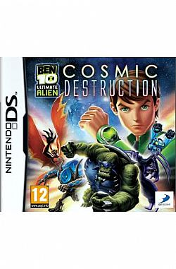 BEN 10 ULTIMATE ALIEN COSMIC DESTRUCTION DS