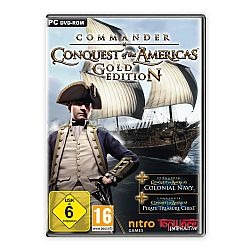 COMMANDER CONQUEST OF THE AMERICAS GOLD PC