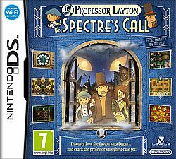 PROFESSOR LAYTON AND THE SPECTRE'S CALL DS