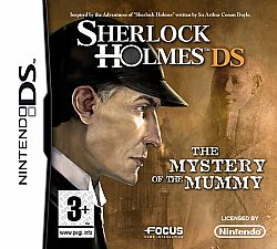 SHERLOCK HOLMES MYSTERY OF THE MUMMY DS