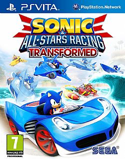 SONIC & ALL STARS RACING TRANSFORMED PSV