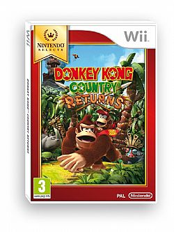 DONKEY KONG COUNTRY RETURNS (NINTENDO SELECTS) WII