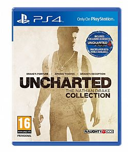 UNCHARTED THE NATHAN DRAKE COLLECTION PS4 (ΕΛΛΗΝΙΚΟΙ ΥΠΟΤΙΤΛΟΙ)