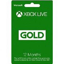 Xbox Live Gold Συνδρομή 12 Μηνών (SERIAL ONLY)