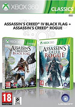 ASSASSINS CREED IV BLACK FLAG & ASSASSINS CREED ROGUE 360