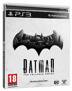 BATMAN THE TELLTALE SERIES PS3