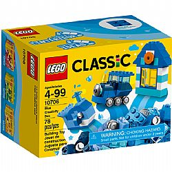 LEGO CLASSIC 10706 Blue Creativity Box (78 PCS)