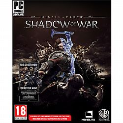 Middle-Earth Shadow of War (Code in a Box) & Forge Your Army DLC (PC)
