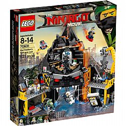 LEGO Ninjago Movie 70631 Garmadons Volcano Lair